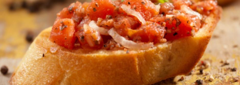 美味料理食譜:義大利開胃菜 Bruschetta