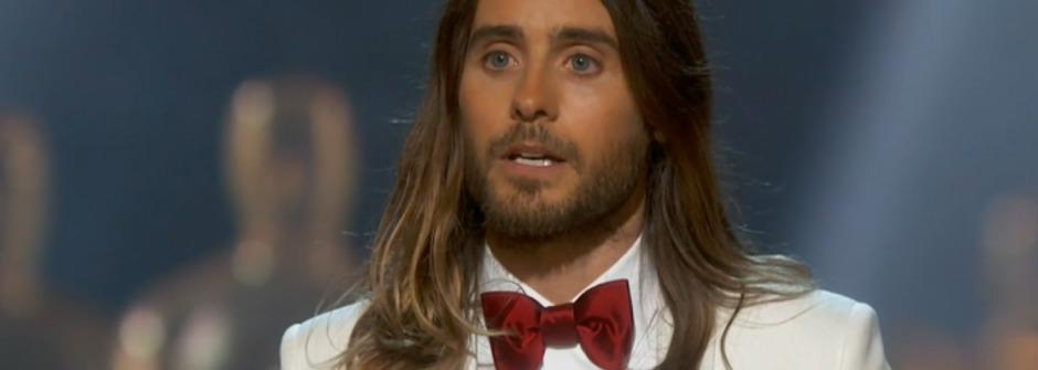 將小金人獻給世界的奧斯卡男配角 Jared Leto