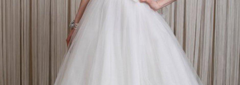 如藝術品般精緻華麗的婚紗 Badgley Mischka