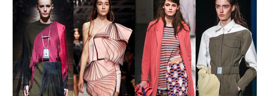 時裝周直擊!春夏不對稱時尚正流行