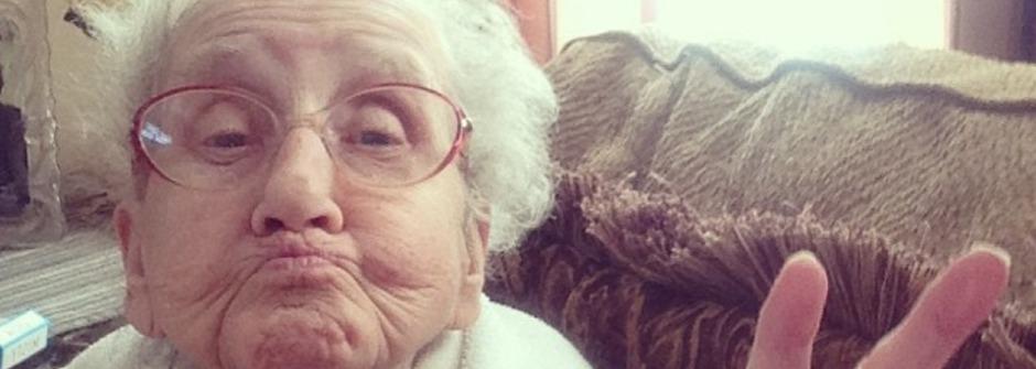 最溫馨!Instagram 上35萬網友陪老奶奶樂觀抗癌