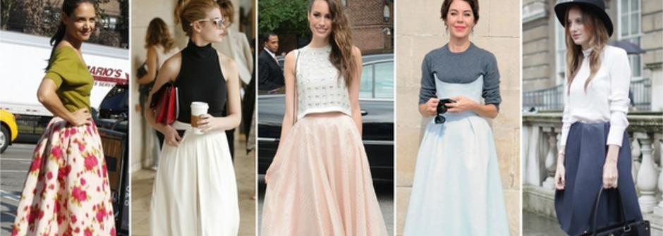 今春最紅過膝大圓裙!7 個讓妳時尚度 up 的穿搭法則
