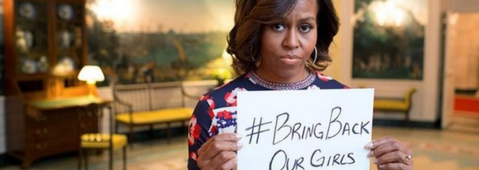 憤怒聲援!#Bring Back Our Girls 全球吶喊放奈及利亞女學生回家
