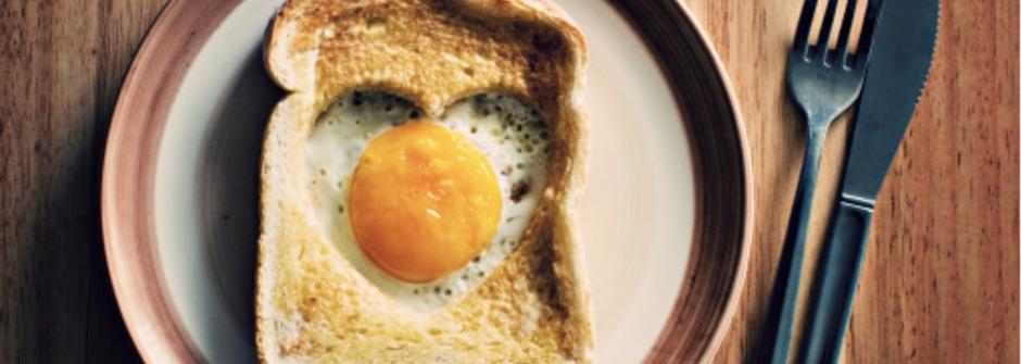 你知道幾度的蛋放在吐司上最好吃嗎?