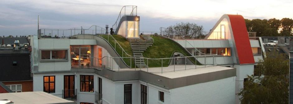屋頂上的遊樂場