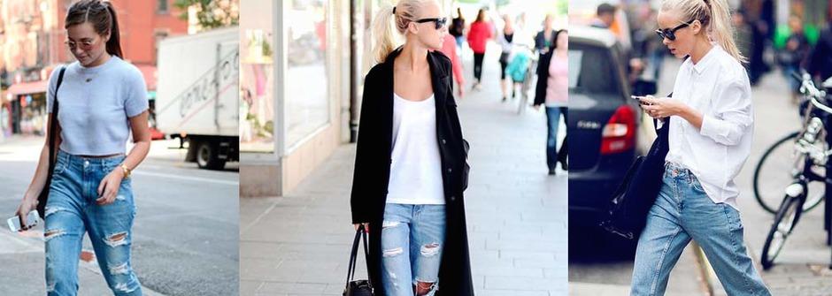 穿上 Boyfriend Jeans,散發你的獨特魅力
