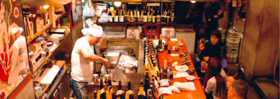 另類日本居酒屋:龐克你的酒,搖滾你的桌
