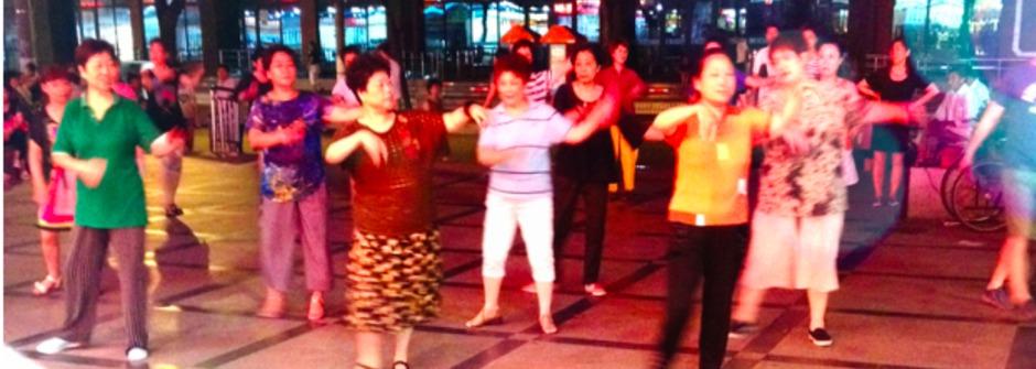 把舞台搬到廣場:中國大媽的流行舞