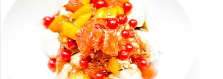 美味料理食譜:柑柚另類入菜