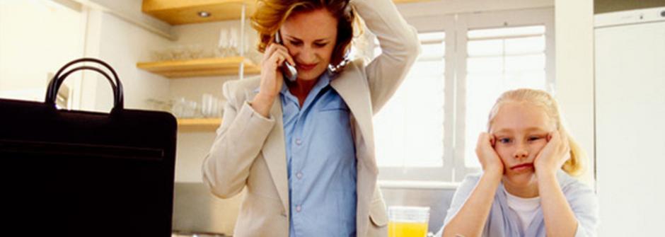 職場媽媽的必修課:不再因為太忙而感到愧疚