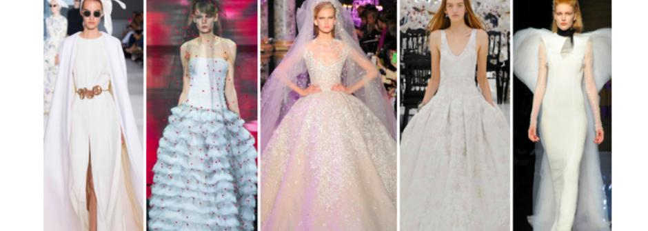 美得不可思議!十件充滿叛逆女神味的非典型婚紗