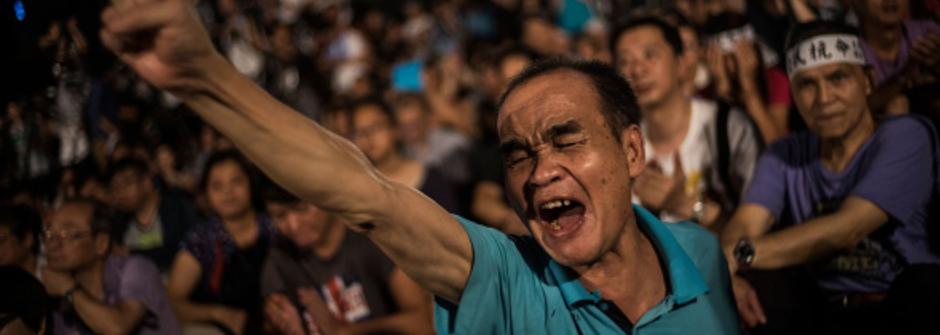 今日香港,明日台灣:香港佔中事件後,台灣人你醒了嗎?