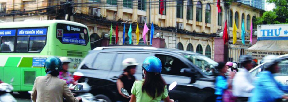 在越南過馬路:凡事都得有踏出第一步的勇氣