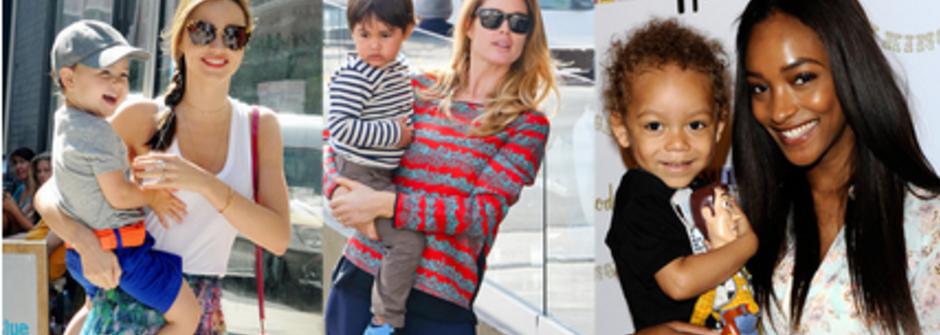 當了媽媽一樣性感!跟十位超模辣媽學穿搭