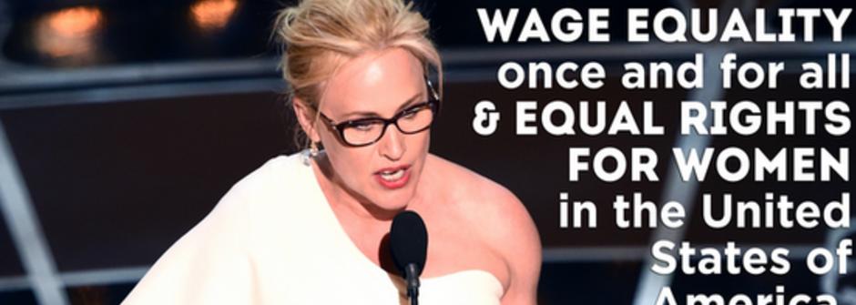 讓梅姨起立鼓掌的得獎感言!派翠西亞艾奎特:「女人,是時候為自己奮鬥了!」