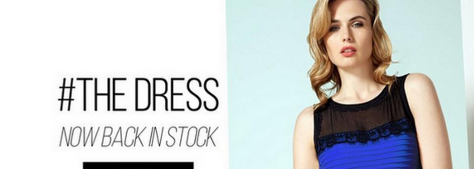 網路行銷的迷人與侷限:「藍黑」洋裝一天吸引 4100 萬點閱