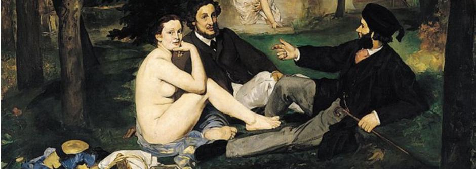 繆思其實沒這麼浪漫?「草地上的午餐」中裸女代表的意義