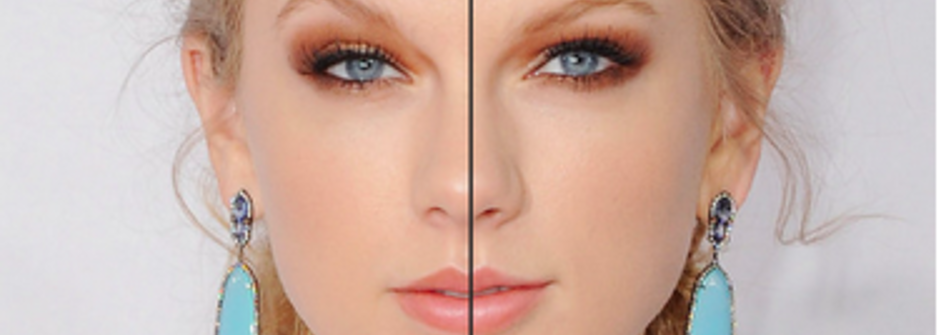 美女的臉都左右對稱?其實失衡一樣美