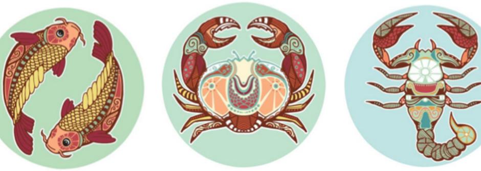 【蘇珊米勒星座專欄】雙魚、巨蟹、天蠍:水象星座的四月運勢