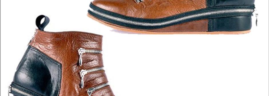 有趣拉鏈鞋款 MIROÏKE
