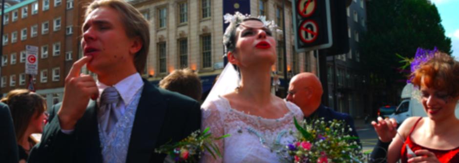 直擊倫敦婚禮型人穿搭