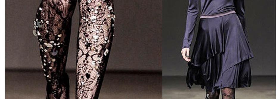 秋冬裝扮必備單品:創意時尚絲襪穿搭
