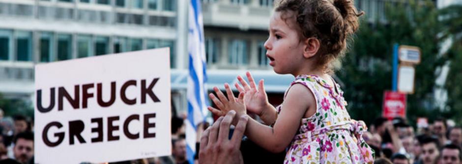 希臘人民捍拒紓困案:「今天的NO是民主歐洲大大的YES」