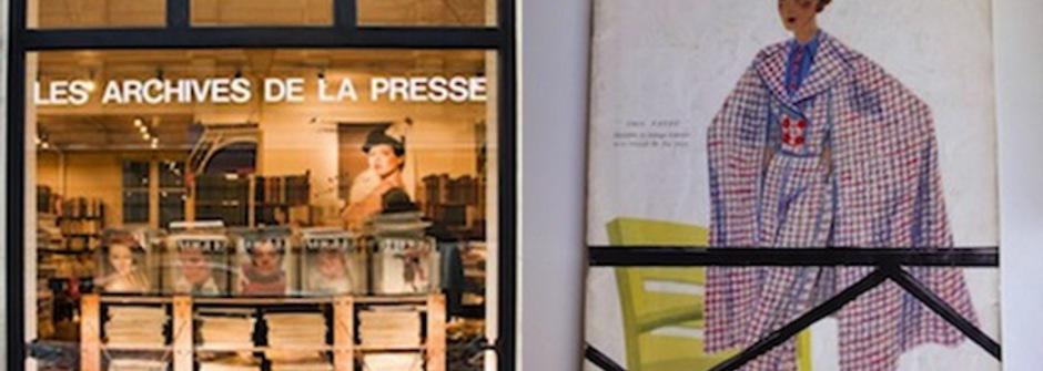 尋找巴黎二手時尚書