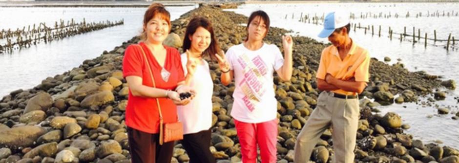 追逐潮汐的女人:新住民長花用蚵仔堆疊出的平凡幸福