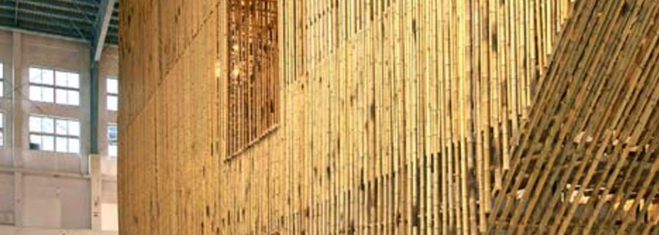 充滿竹風的「孟宗竹遠景館」在台中