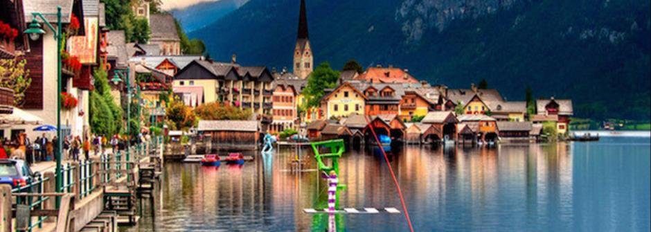 來到歐洲,千萬別錯過這九個最「水」小鎮!