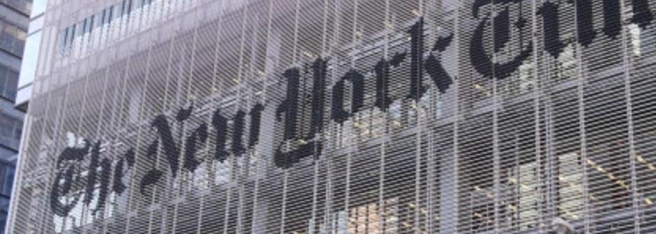 老字號也玩新社群手法!紐約時報用 Instagram 為新聞加溫