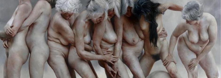 【熟齡裸體畫集】歲月未曾凋零!女人的身體不只因「青春」而美