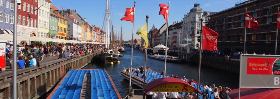 咖啡廳、腳踏車、藍色小精靈:童話後院的哥本哈根