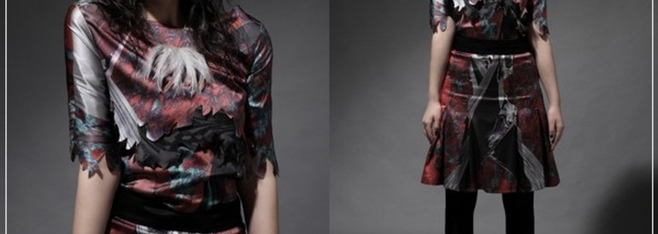 蝙蝠俠狂想 Saffron Knight A/W '11 LookBook