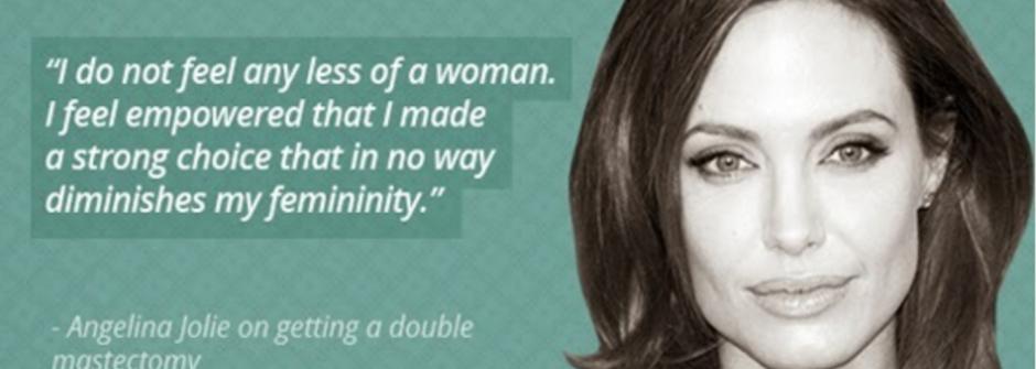 活著還愛著就是性感!安潔莉娜裘莉、麥金妮絲、凱莉米洛抗乳癌宣言