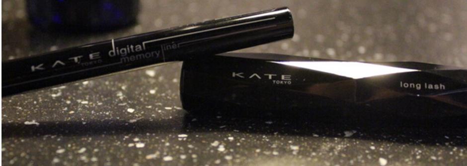美得深刻的冬日雙眼!KATE 豔黑記憶眼線筆與激長幻真睫毛膏