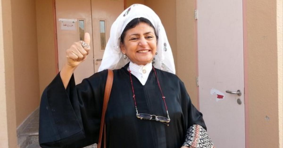 「我終於行使了我的投票權」沙國首次開放女性投票