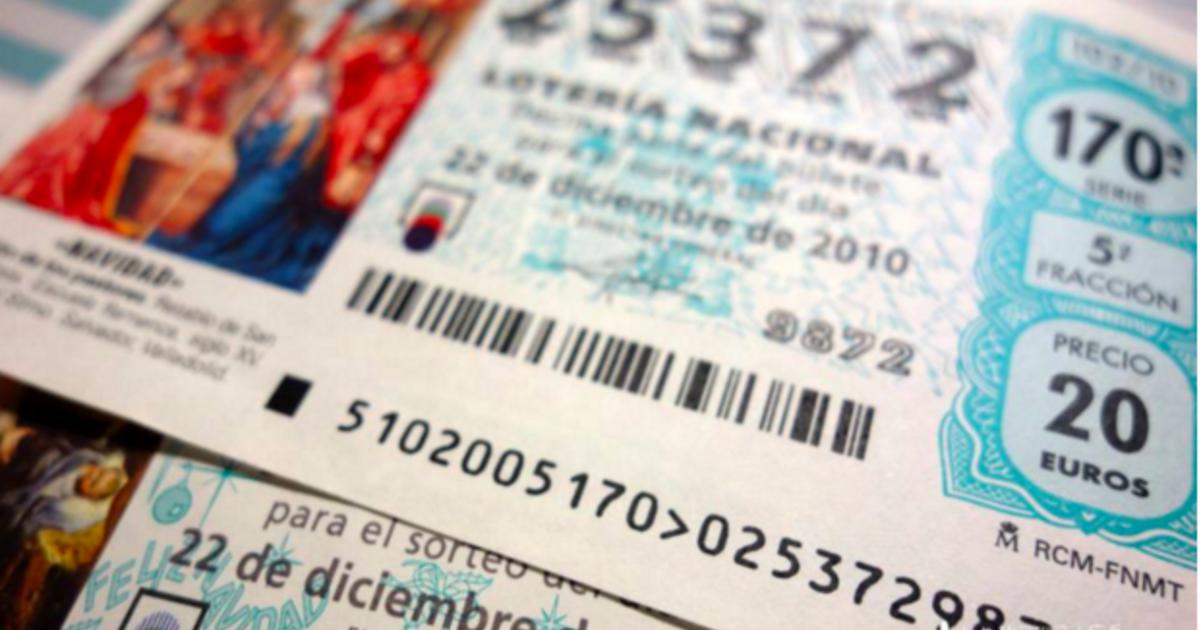 來自西班牙的好運!聖誕節限定的樂透彩券