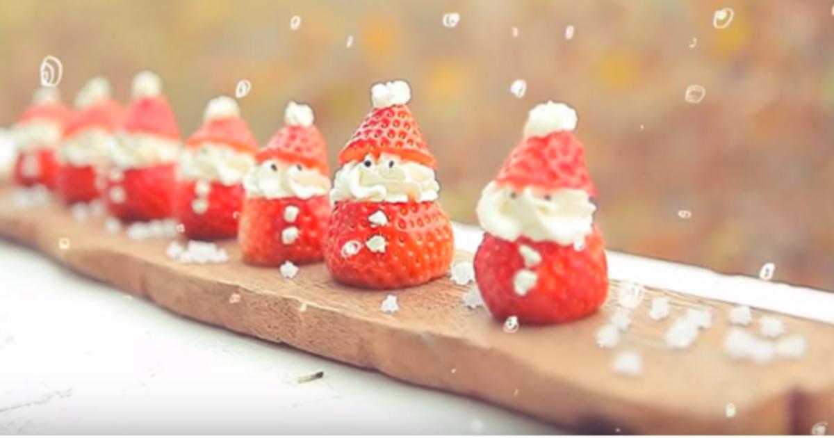 吃貨筆記:草莓聖誕老人、花椰菜聖誕樹你想選哪道?