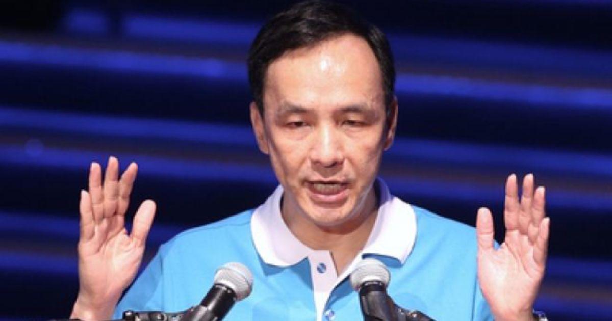 【即時】朱立倫敗選感言:台灣要往哪裡走,不是一個政黨的事