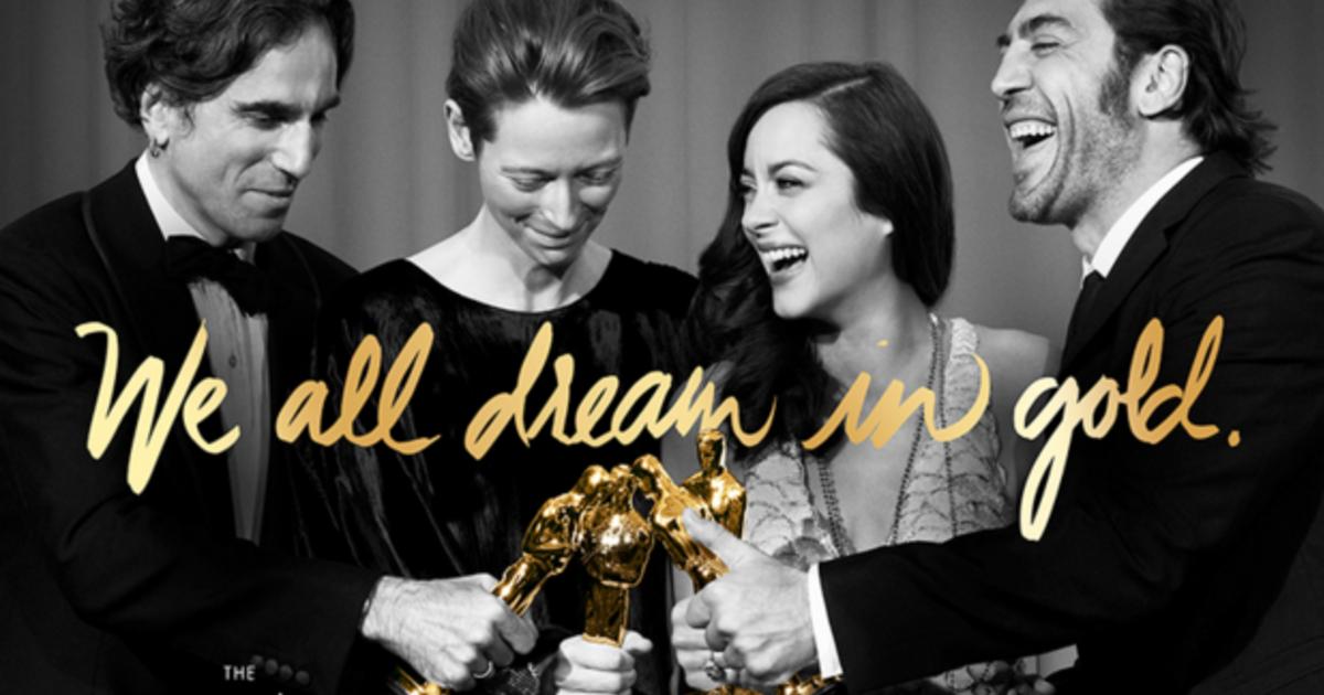 「我們都有過小金人的夢」奧斯卡歷屆得獎人倒數海報