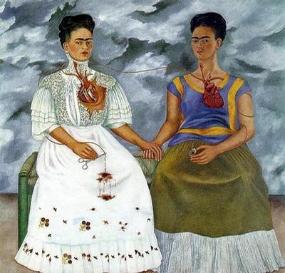 凝觀自己的女性藝術家 芙烈達.卡蘿