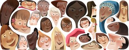 google doodle 2013 women's day