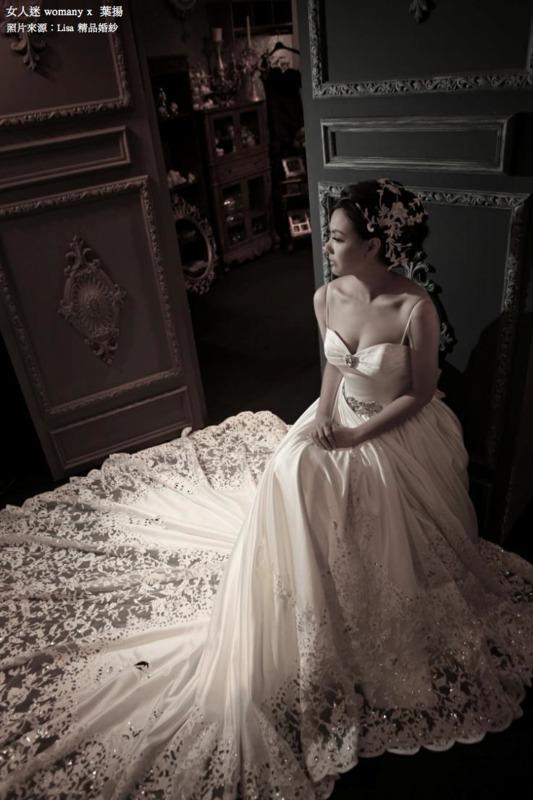 女人迷 womany x 葉揚 不一樣的婚紗 Lisa精品婚紗