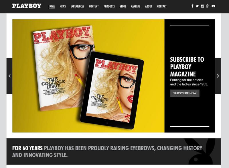 Playboy面臨轉型