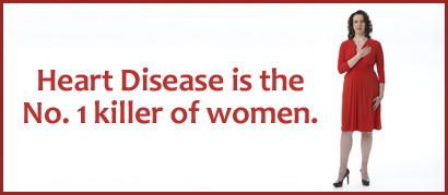 女人心臟病症狀與男人不同