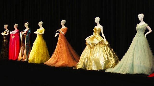 迪士尼公主的高級訂製禮服將被拍賣