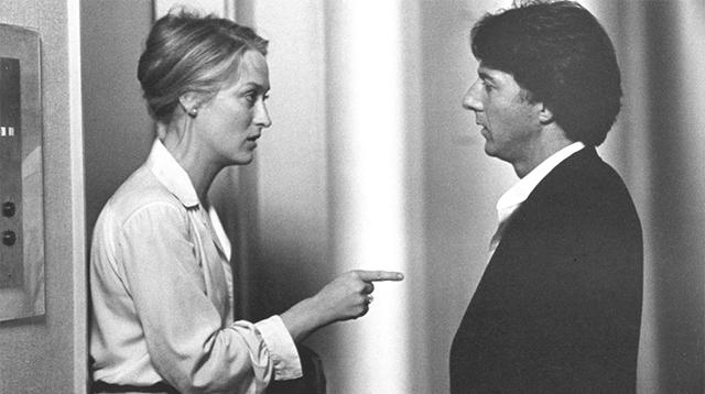 梅莉・史翠普與達斯汀・霍夫曼在飾演一對關係無法繼續的夫妻