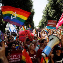 Israel's LGBT community protests for fathers' surrogacy rights